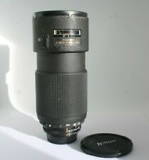 Nikon ED AF Nikkor 80-200 mm F 2.8 D nice lens!!  Zoom Autofocus