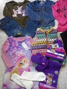 NEXT GAP TED BAKER 73x NEW USED BUNDLE GIRL CLOTHES 4/5 YRS 5/6 YRS (9)