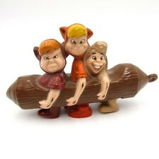Mcdonalds 2002 Disney Animated Movie 3 Children on Log Plastic Wind Up Toy