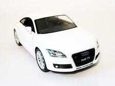 Audi TT Coupe 1:24 DieCast model Car Welly Die Cast White 22478