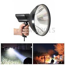 12V 100W HID 9'' Handheld Lamp Camping Hunting Fishing Super Light Spotlights
