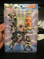 """NEW Naruto Key Chain 4 Pack Lot Japan Anime Action Figures Free Ship 3""""-4"""""""