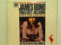THE  ZERO  ZERO  SEVEN   BAND              LP       JAMES   BOND    THRILLERS