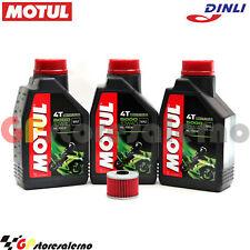 KIT TAGLIANDO OLIO + FILTRO MOTUL 5000 10W40 3LT DINLI 450 DL901 DMX 2008