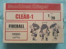 Clear limited Edition Ma.K Nitto (SF3D) 1/20 Clear-1 Fireball SAFS Space Type