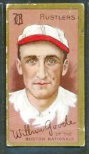 "1911 T205: WILBUR GOODE ""Boston Rustlers"" Honest Long Cut"