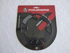 1X Fouriers Fahrrad Kettenschutz Kettenschutzscheibe Kettenschutzring Alu