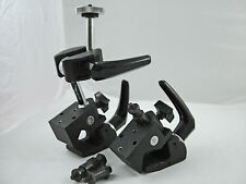 2 Bogen Manfrotto Camera Clamps