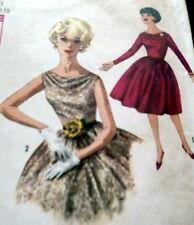 LOVELY VTG 1960s DRESS Sewing Pattern 11/31.5