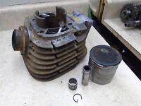 Yamaha 250 DT1 Enduro Engine Cylinder & Piston 70.50mm1972 WD SM374