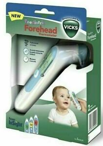 Vicks Infrarot Stirnthermometer Fieberthermometer kontaktlos Forehead Fore Head