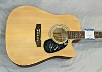 "MICKY DOLENZ SIGNED THE MONKEES Autographed  41"" Acoustic Guitar CERTIFIED BAS"