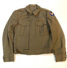 Vintage WW2 US Army 1945 Wool Field Jacket Field Art Corporal Sergeant 36R