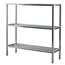 "New Age 1041 3-Tier 36""W x 20""D x 60""H 1500 Lb Capacity H.D. Series Shelf Unit"