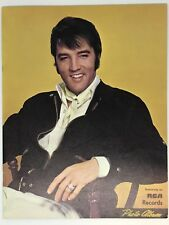 VINTAGE ELVIS PRESLEY PHOTO ALBUM EXCLUSIVELY ON RCA RECORDS MEMORABILIA