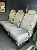 MotorHome Commercial Van Kombi Removable Seat Chair & Base (Priced Individually)