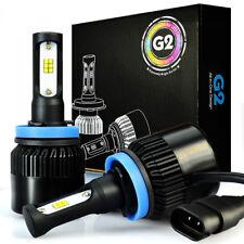 JDM ASTAR G2 8000LM H9 CSP LED Headlight High Beam Bulb Xenon White 6000K 64W 2p