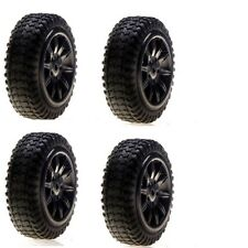 Losi LOSB1584 Pre Mounted Tires / Black / Micro Rally(4)