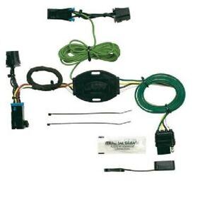 Trailer Connector Plug-In Simple 1996-99 Chevy Express GMC Savana HOPKINS 41325