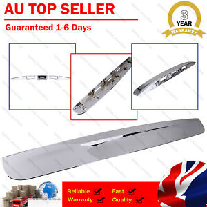 Fit Nissan Dualis J10 2007-2013 Tailgate Handle Garnish Cover Chrome No Cam Hole