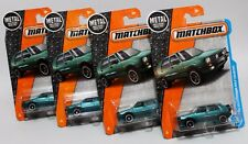 '90 VOLKSWAGEN GOLF COUNTRY * LOT OF 4 * 2017 MATCHBOX * TEAL ON CORRECT CARD