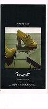 PUBLICITE ADVERTISING 044   1979   RENAST   chaussures automne -hiver