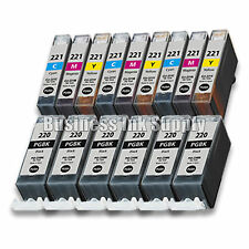 15+ PACK PGI-220 CLI-221 Ink Tank for Canon Printer Pixma iP3600 iP4600 NEW