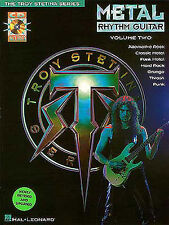 Metal Rhythm Guitar VOL 2 Troy Stetina TAB Book + CD