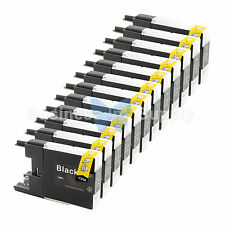 12 BLACK LC71 LC75 Ink Cartridge for Brother MFC-J5910DW MFC-J625DW MFC-J6510DW