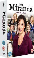 Miranda - Series 1 + 2 + 3 [DVD]  Komplette Season Staffel Eins + Zwei + Drei