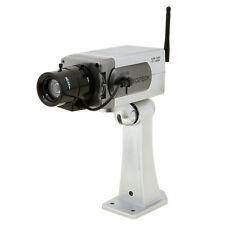 New Dummy Fake Home Surveillance Security Camera Infrared W/ Antenna Motion Cam