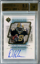 2004 Ultimate Collection DEVERY HENDERSON Auto RC Rare #/250 BGS 9.5/10 Pop 1/8