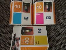 New Genuine HP 51640Y 51640C 51640M Color Copier 210 210lx; CopyJet M; Ink Set
