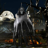 5.5ft Halloween Skeleton Ghost Hanging Decor Scary Party Indoor/Outdoor Props