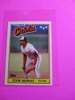 1988 Topps TIFFANY, UK American Baseball Mini,  MINT Eddie Murray #53 Rare!