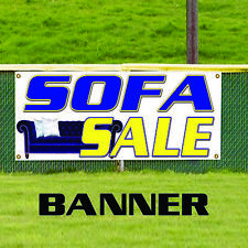 Sofa Sale Couch Furniture Leather Retail Store Advertising Vinyl Banner Sign