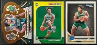 Lot of (3) Carsen Edwards, Including Donruss /349, Crown Royale & Hoops Rookies