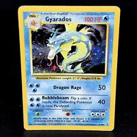 Gyarados - Base Set Unlimited 6/102 - WoTC Holo Rare Pokemon Card 1999