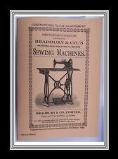 Bradbury & Co Transverse boat shape shuttle Family&Medium Sewing Machine Manual