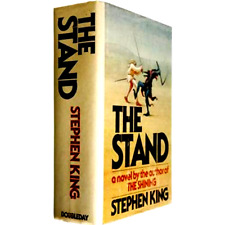 The Stand by Stephen King It Shining OUT OF PRINT ** HARDCOVER ** VERY GOOD **