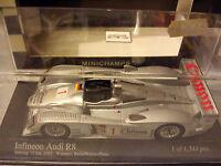 Minichamps 1/43 Audi R8 #1 Winner Sebring 12h 2003 Biela Werner Peter