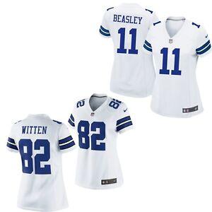 Dallas Cowboys Women's White Nike Jersey