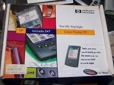 HP 547 Color Pocket PC in oiriginal box with all materials tested and working