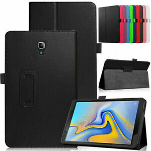 "Leather Flip Stand Case Cover For Samsung Galaxy Tab A 10.5"" T590/T595 2018"
