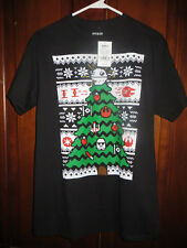 NEW Star Wars Galactic Christmas Tree T-Shirt Medium M Storm Trooper Ornaments