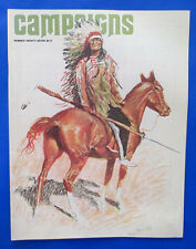 1980 Mar CAMPAIGNS Magazine FN- Le Mans 1944 Indian Tipi Sioux Chief