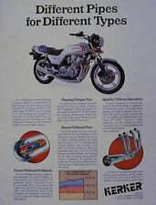 1979 KERKER Ad Features HONDA 750 CB-750 F CB750F