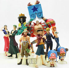 Anime One Piece New World LUFFY NAMI 1.57-5.12in Figures Set 10pcs Gifts