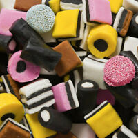 Gustaf's English Licorice Allsorts All Sorts Mix 1Lb Bulk Weight  Premium Candy
