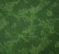 Small Leafy Vine Green BTY Fabric Traditions Small Leaf Print Blender